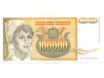 Novčanica 100.000