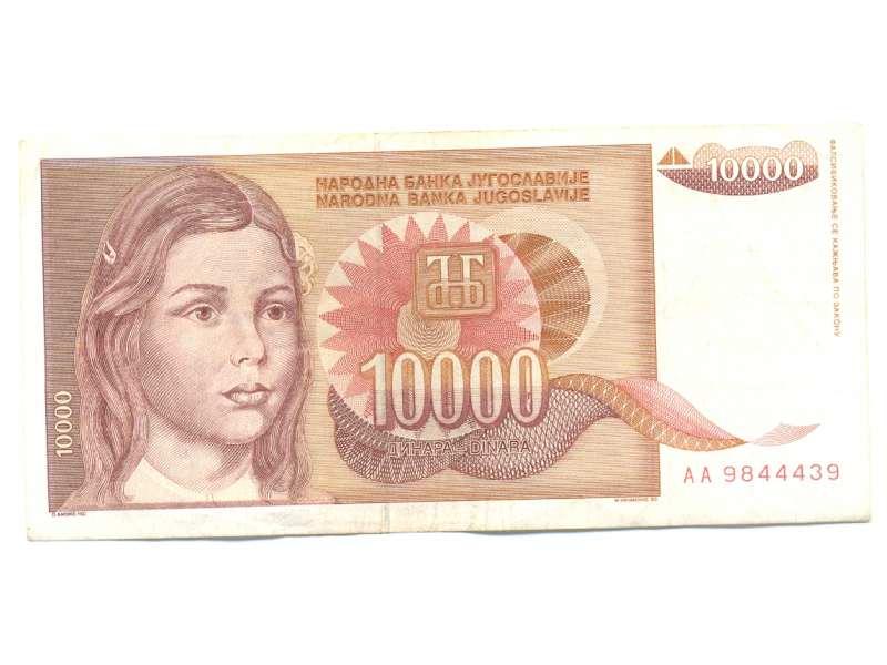 Novčanica 10000