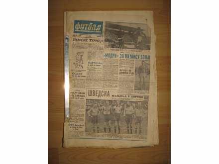 Novine Fudbal iz 1959 godine