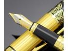 Novo, visoko kvalitetno crno/zlatno naliv pero HERO 901