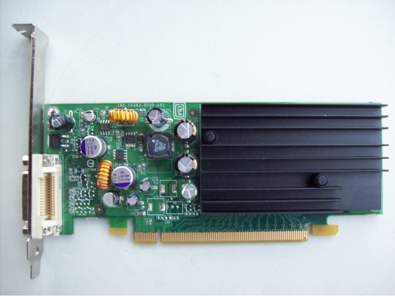 Nvidia Quadro NVS 285  pci-e 128 mb  ddr2  DMS-59