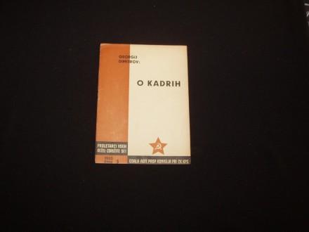 O kadrih,Georgi Dimitrov,AGITPROP 1945,na sloven.