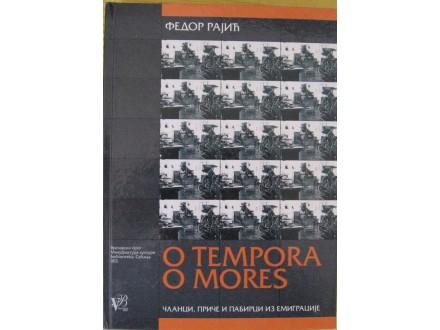 O tempora o mores  članci, priče i pabirci iz emigracij