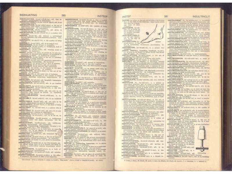 ODHAMS DICTIONARY OF ENGLISH LANGUAGE