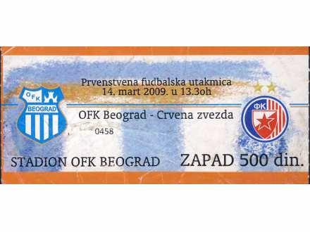 OFK Beograd - Crvena Zvezda   ,   2009.god. - MART