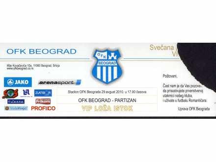 OFK Beograd - Partizan   ,   2010.god.