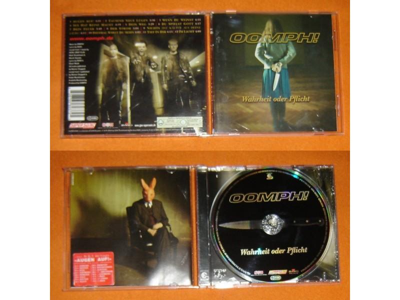 OOMPH! - Wahrheit Oder Pflicht (CD) Made in Germany