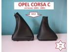 OPEL CORSA C kožica menjača i ručne (2001-05) KOMPLET