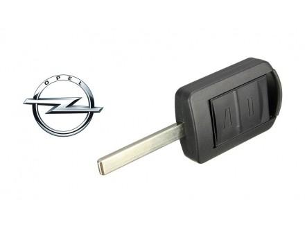 OPEL kljuc sa dva dugmeta za Corsu, Merivu, Agilu