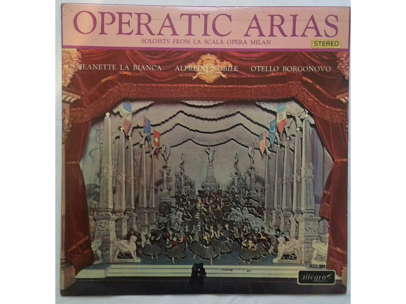 OPERATIC ARIAS - Soloists from la scala opera milan