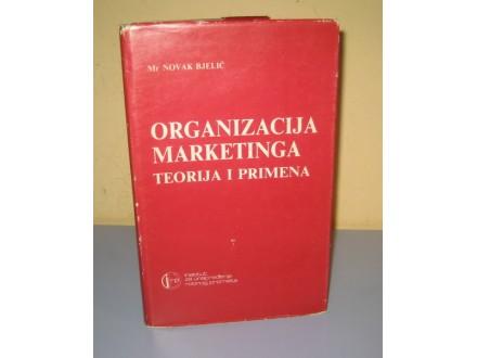 ORGANIZACIJA MARKETINGA teorija i primena Novak Bjelić