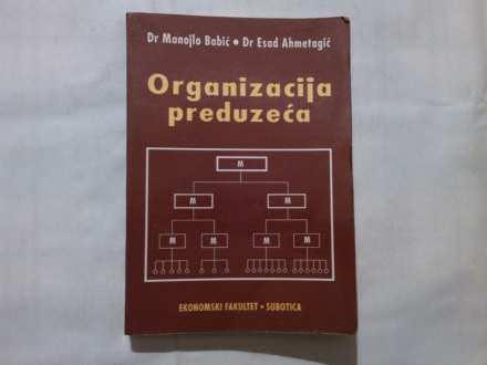 ORGANIZACIJA PREDUZECA-BABIC/AHMETAGIC