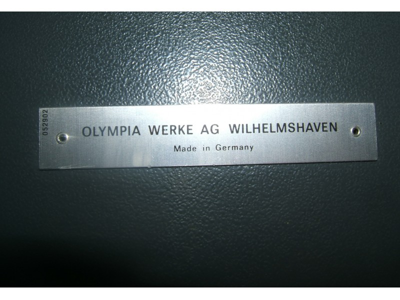 ORIGINAL OLYMPIA MASINA, MADE IN GERMANY