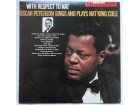 OSCAR PETERSON SINGS AND PLAYS NAT KING COLE