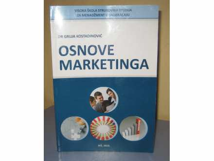 OSNOVE MARKETINGA  Dr Gruja Kostadinović