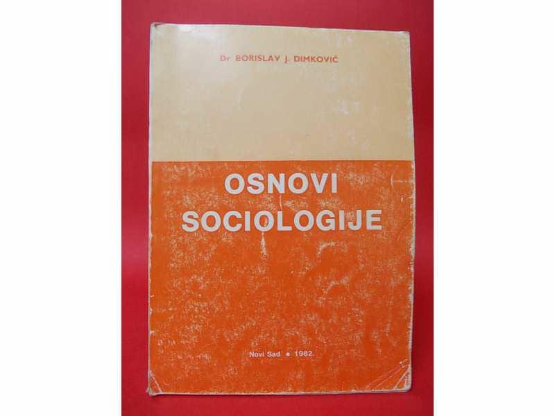 OSNOVI SOCIOLOGIJE  -  Borislav Dimković
