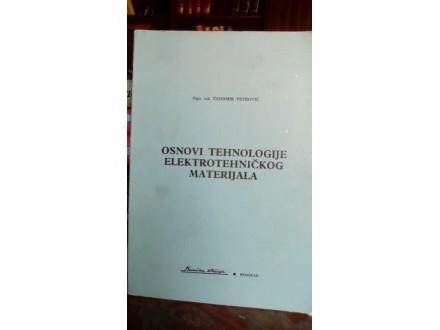 OSNOVI TEHNOLOGIJE ELEKTROTEHNIČKOG MATERIJALA