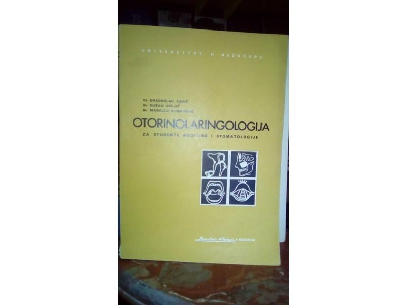 OTORINOLARINGOLOGIJA ZA STUDENTE MEDICINE I STOMATOLOGE