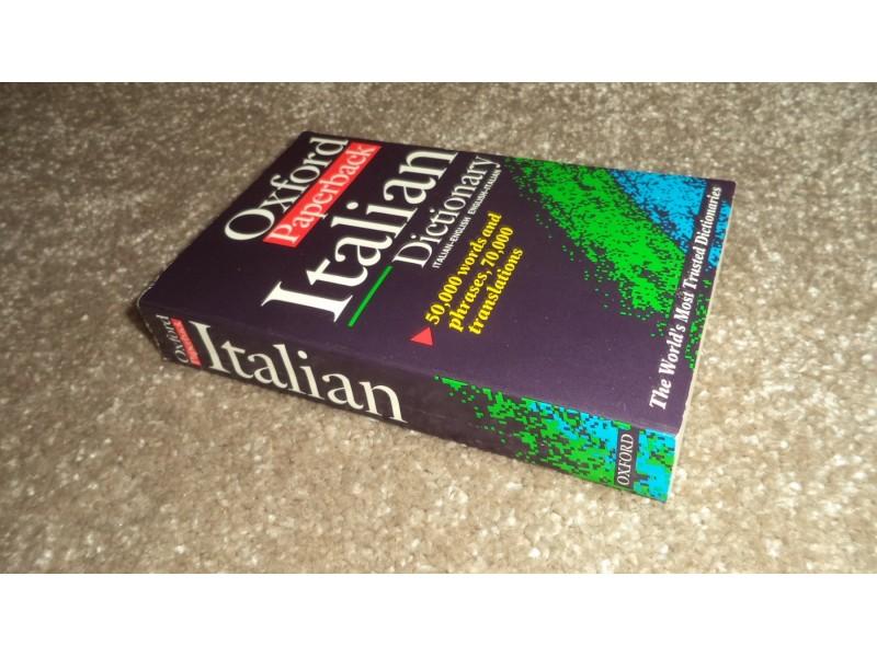 OXFORD ITALIAN DICTIONARY italian-english, english-ital