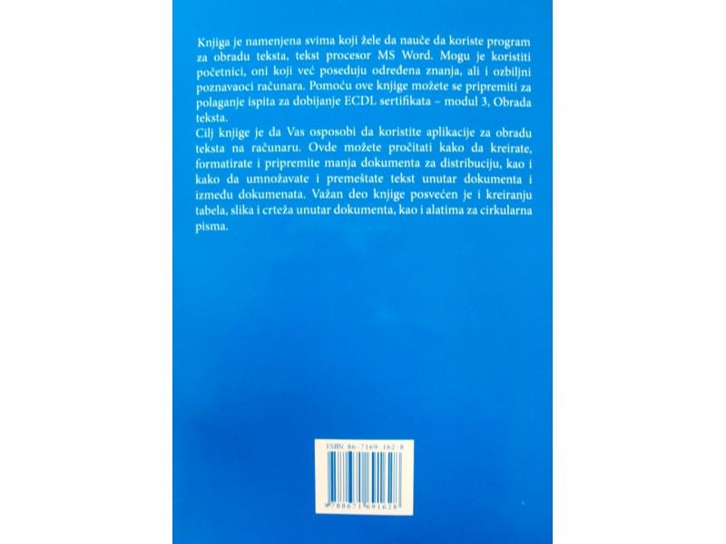 Obrada teksta - Dušan Ljubičić i Ante Franjić