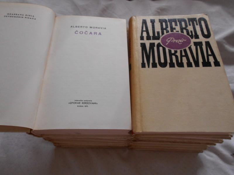 Odabrana djela 1-10, Alberto Moravia,  OK Ri