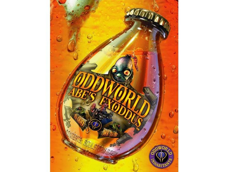 Oddworld 3xCD Abe`s Oddysee / Abe`s Exoddus