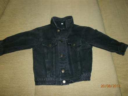 Odlična teksas jakna vl.98. (2-3 godine)