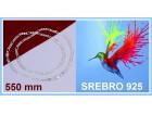Ogrlica SREBRO 925 - N102 - 22