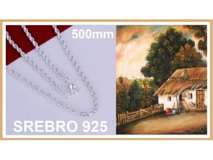 Ogrlica SREBRO 925 - N226 - 20