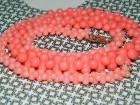 Ogrlica od pink korala