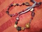Ogrlica od raznobojnih  kamenčića
