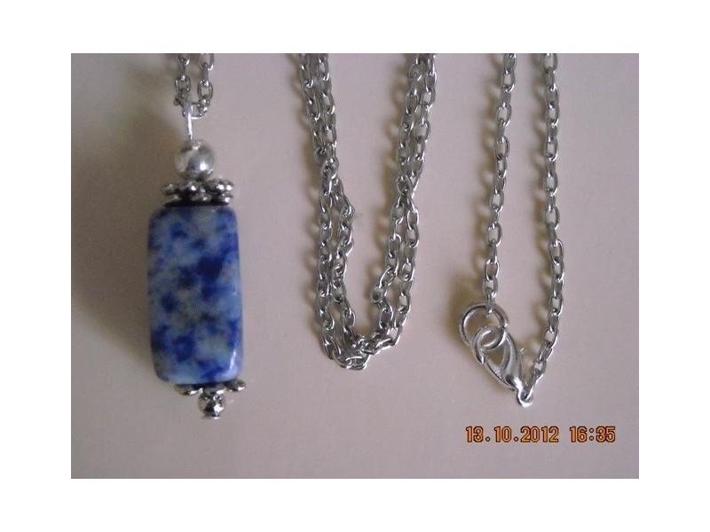 Ogrlica + privezak od sodalita
