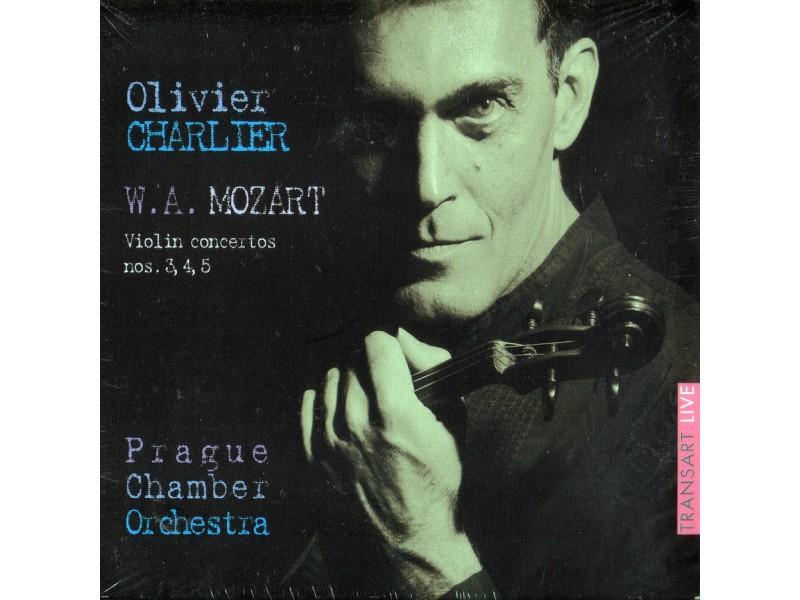 Olivier Charlier - W.A. Mozart: Violin concertos nos. 3, 4, 5