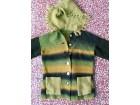 Ombre zeleni džemper za devojčice