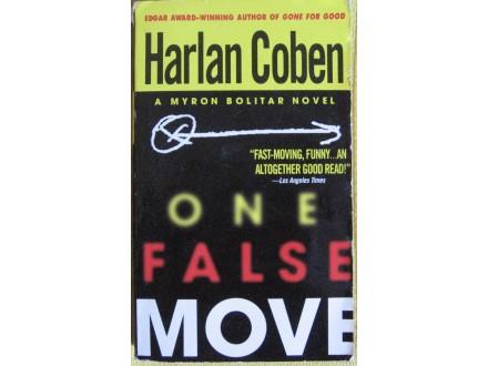 One false move  Harlan Coben