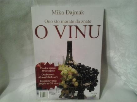Ono što morate da znate o vinu, Mika Dajmak