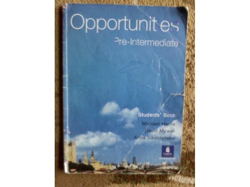 Opportunites Pre-intermedijate