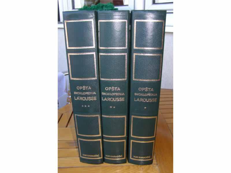 Opsta enciklopedija Larousse (I,II,III)