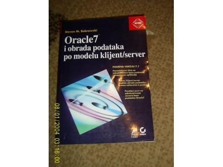 Oracle 7 i obrada podataka po modelu klijent server