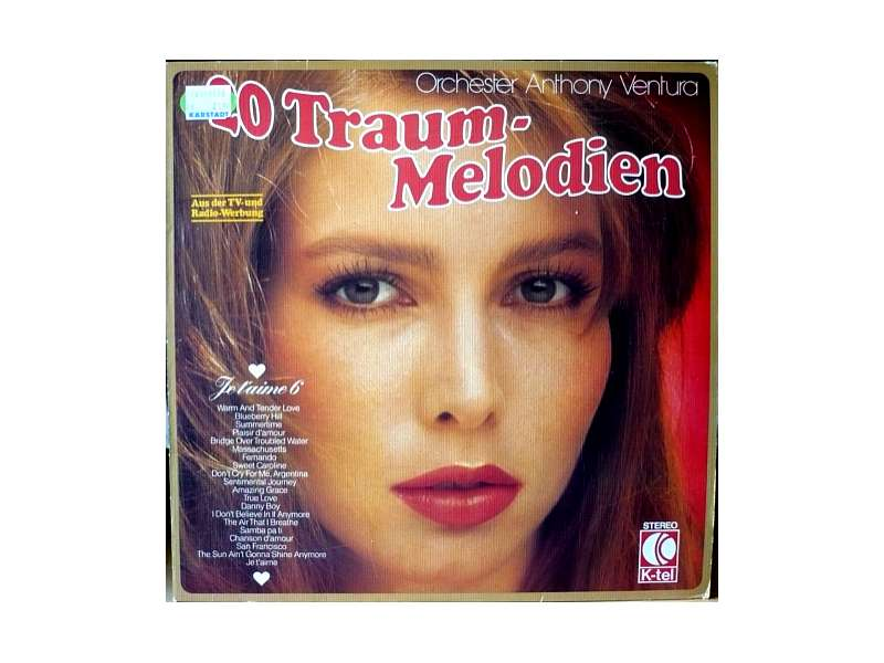 Orchester Anthony Ventura - 20 Traum-Melodien - Je T`Aime 6