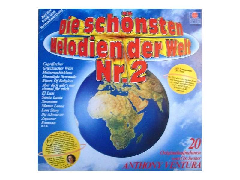 Orchester Anthony Ventura - Die Schönsten Melodien Der Welt Nr. 2