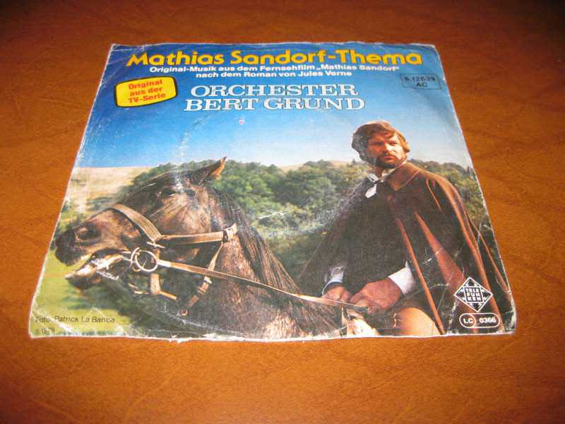 Orchester Bert Grund - Mathias Sandorf Thema / Thema fur Maria