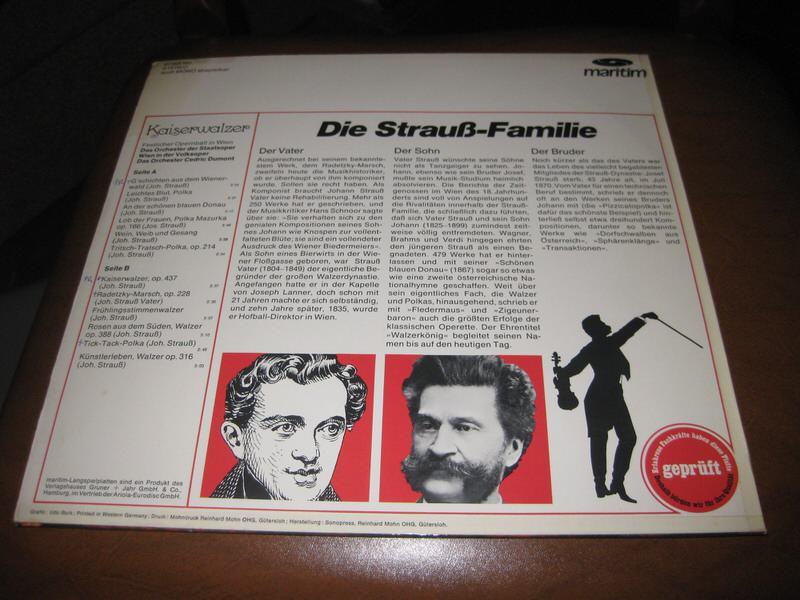 Orchester Cedric Dumont - Kaiserwalzer