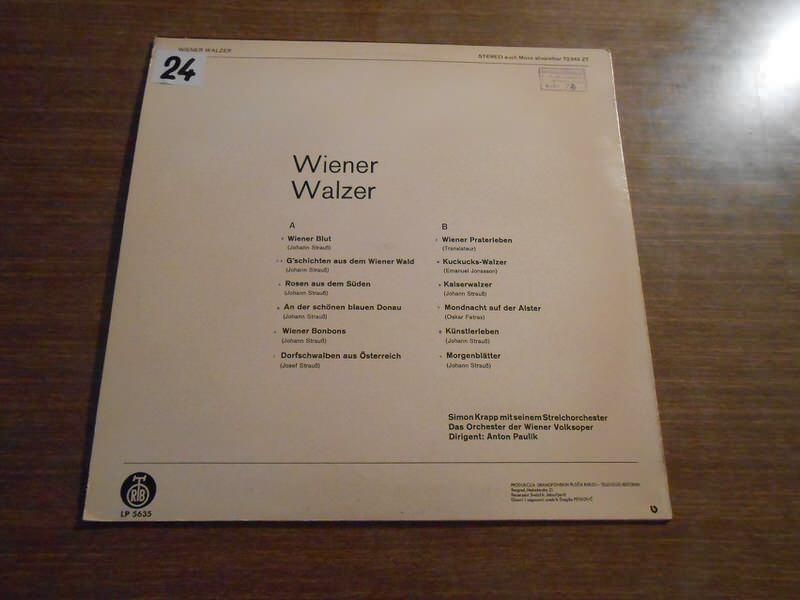 Orchester Simon Krapp - Wiener Walzer