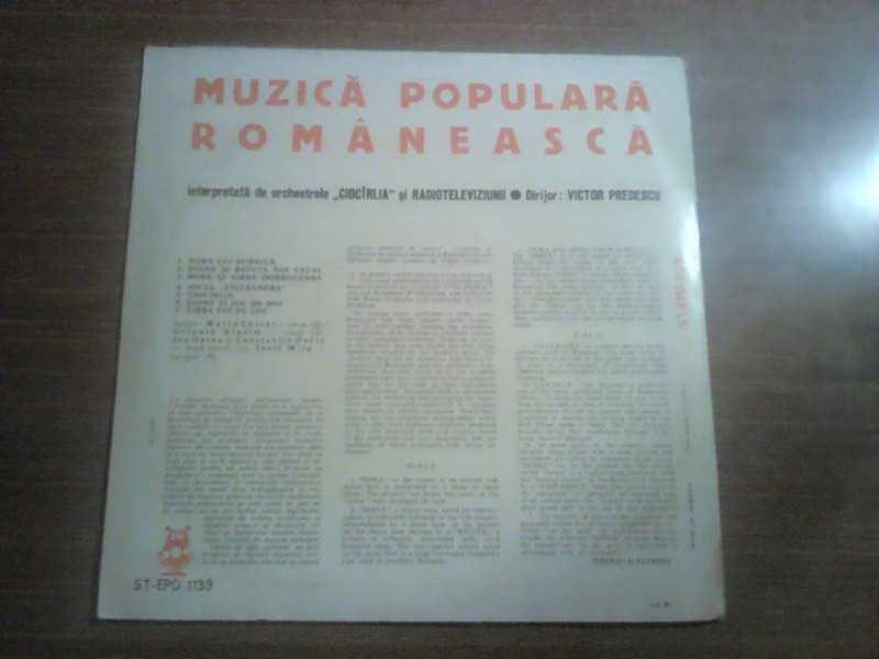 Orchestra Ciocîrlia, Orchestra De Muzică Populară A Radioteleviziunii, Victor Predescu - Muzică Populară Românească