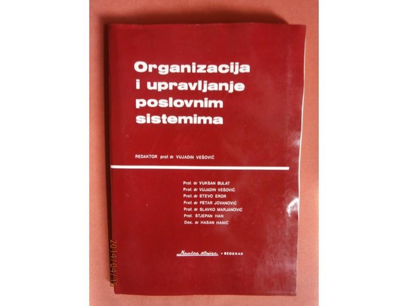 Organizacija i upravljanje poslovnim sistemima