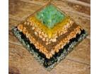 Orgonit Piramida 3 (Generator) Peridot ! ! !