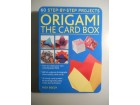 Origami The card box Rick Beech