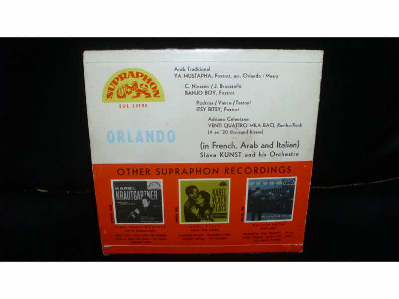 Orlando (7) - Orlando Sings
