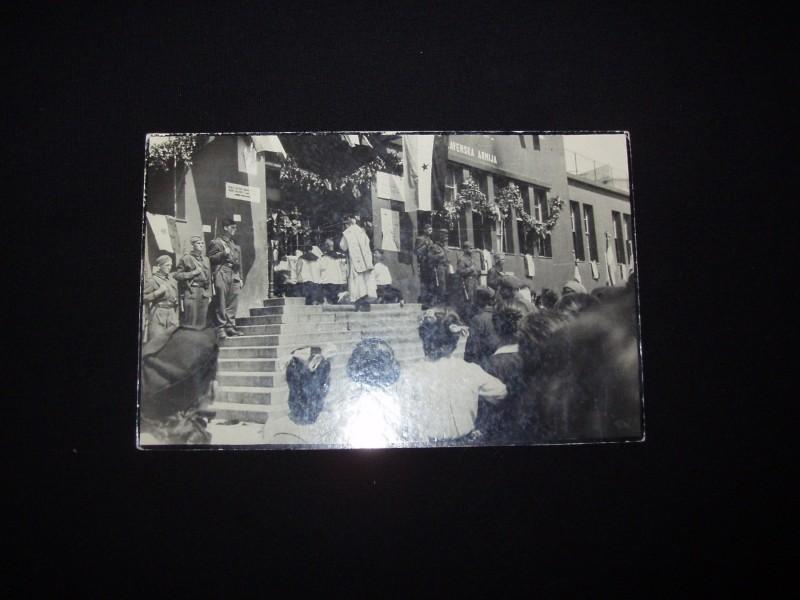 Oslobodjenje Trsta,Julijska Krajina,1945,cb fotografija